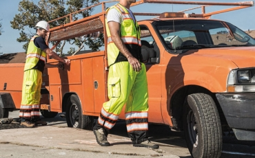 Hi-Visibility Apparel for Low-Light and Roadside Construction Sites