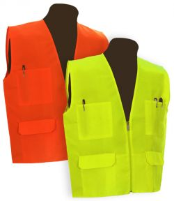 Safety Vest w/o Reflective Stripes