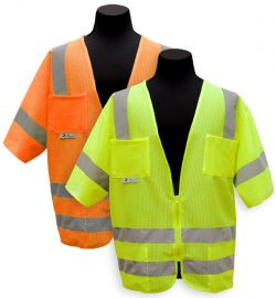 ANSI Class III Mesh Safety Vest