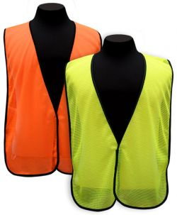Mesh Safety Vest w/o Reflective