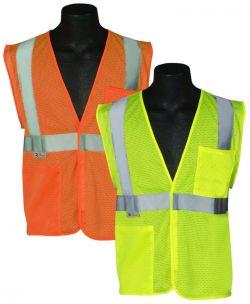 ANSI Class II Mesh Safety Vest