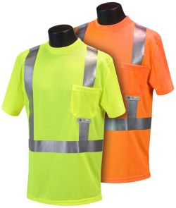 Radians ST11 - ANSI Class 2 Tshirt - Orange & Lime