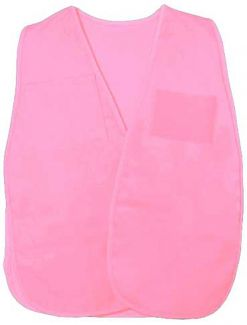 Incident Command Vest (Polyester) Pink - Front
