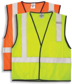 ML Kishigo ANSI Class II Mesh Fabric Safety Vest
