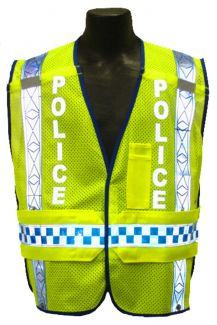 1244 Public Safety Vest Police - Front