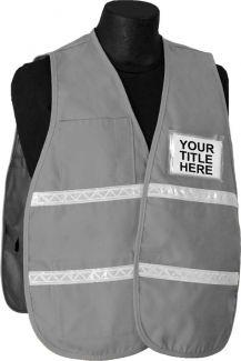 Incident Command Vest (PolyCotton) - Gray - Item # 2515