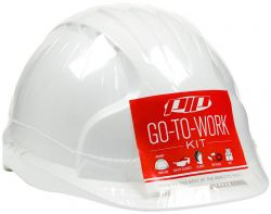 Go-To-Work Kit with Standard Hard Hat