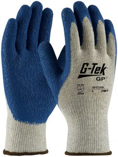 Gray G-Tek GP Gloves by Protective Industrial Products