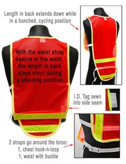 Cycling Sports Vest - Details