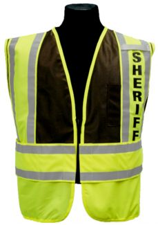 Sheriff Safety Vest - Front