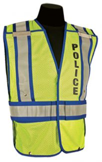 CLOSE OUT - Police Public Safety Vest | Size : 2XL/4XL
