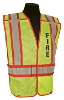 8063 Fire Public Safety Vest - Front
