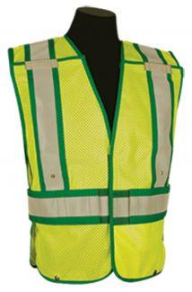 CLOSE OUT - Kishigo Emergency Services Public Safety Vests | Size: 2XL/4XL
