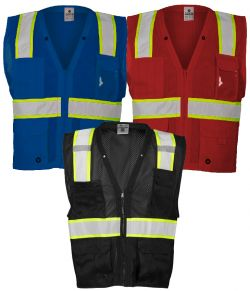 ML Kishigo Enhanced Visibility - Multi Pocket Mesh Vest