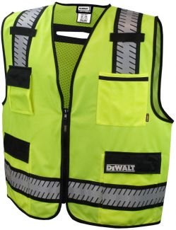 DSV621 DeWalt Heavy Duty Surveyor Vest -Front