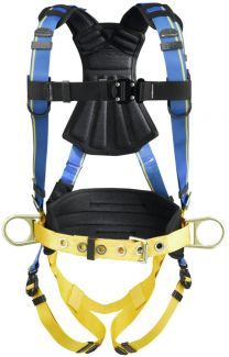 Blue Armor 2000 Construction Harness - QC Chest & Legs