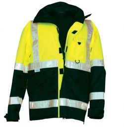 360 Pro Series Parka - Lime - Front