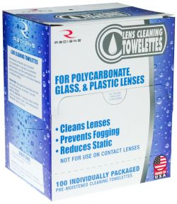 Lens Cleaning Towelettes Box