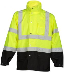 RWJ102 LIME  Rain Jacket