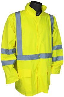ANSI Class III Light Weight Rain Jacket - Front