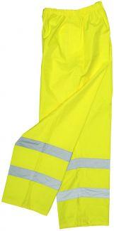 ANSI Class E - HiViz Light Weight Rain Pants