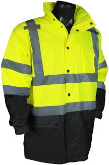 RW30-3Z1Y Rain Jacket Lime - Front