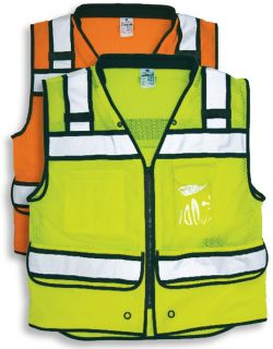 ML Kishigo Surveyors Vest - Padded neck