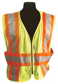 CLOSE OUT - ANSI Class II Expandable Safety Vest - Size 3X/4X