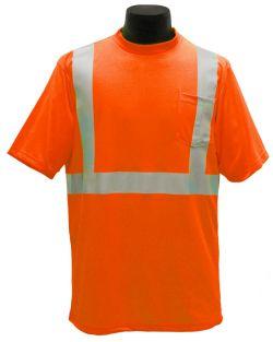 ANSI Class II T-Shirt - Orange - Front