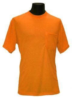 Hi-Viz T-Shirt - Orange - Front