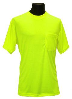 Hi-Viz T-Shirt - Lime - Front