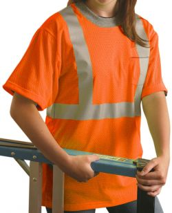 Mesh T-Shirt ANSI Class II - Orange