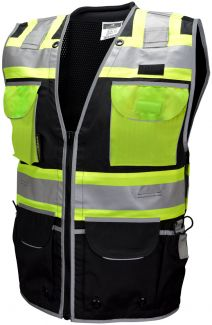 Radians - Type O, Class 1 Heavy Duty Two Tone Engineer Safety Vest