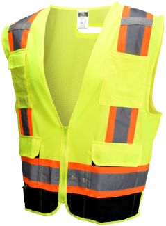 Radians - ANSI Class 2 Black Bottom Surveyor Vest