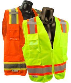ANSI Class II Vest w/ Contrasting Stripes